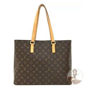 Like-New* Louis Vuitton Monogram Luco Tote Bag:Wow